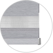 Dynamic Window Coverings - banded shades