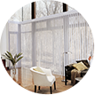 Dynamic Window Coverings - privacy shields
